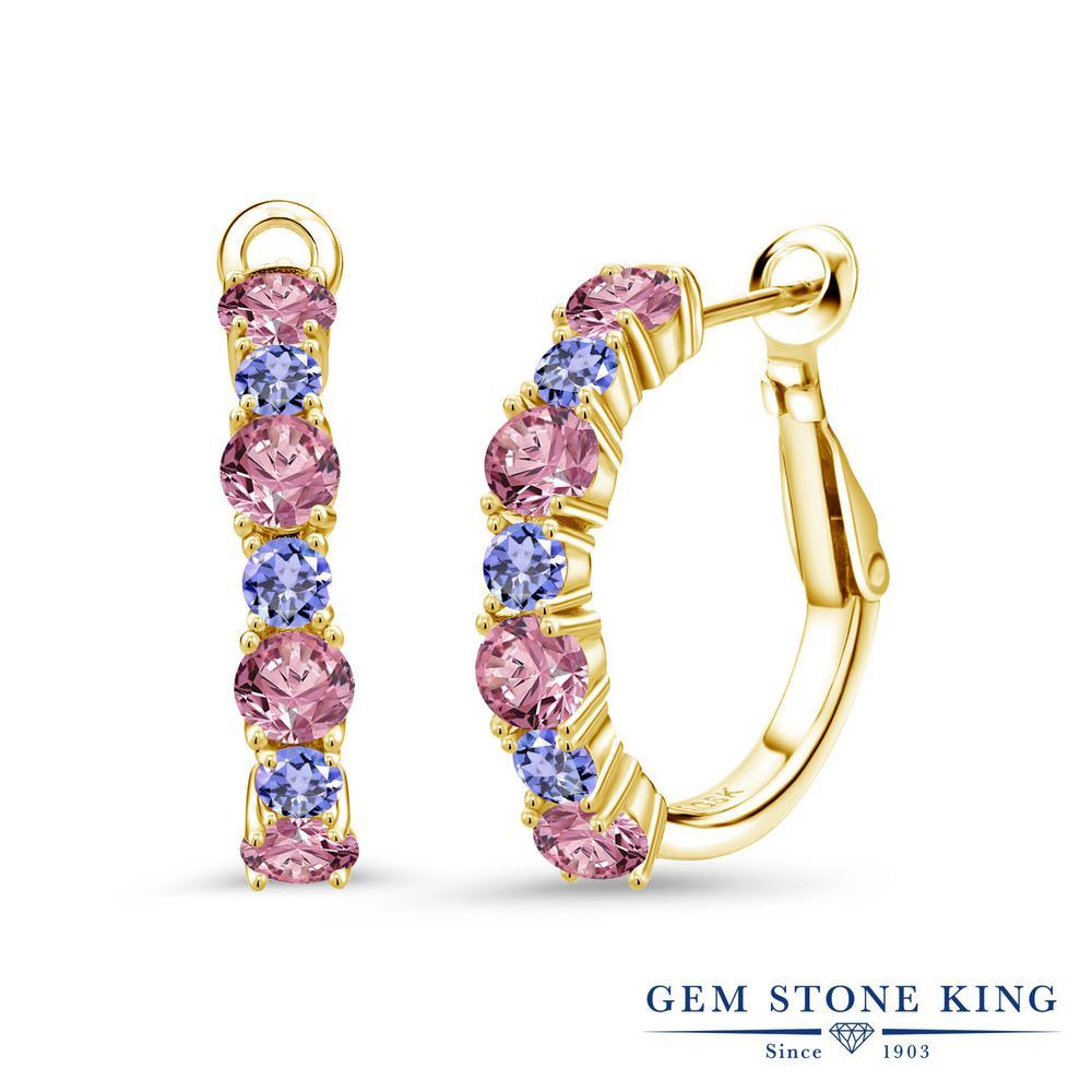 Lex /& Lu Sterling Silver 7x5 Oval CZ Stud Earrings