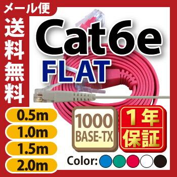 Cat6e0.5m〜2m