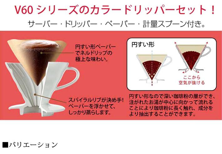 ハリオ コーヒーサーバー02セット01