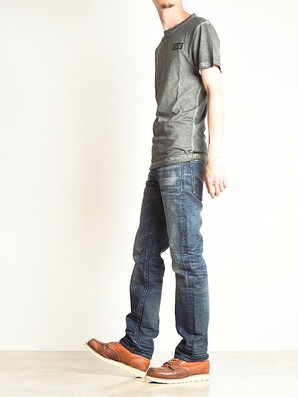 【10%OFF/送料無料】 ジーンズ 51002.8595 ジースターロウ G-STAR RAW ストレート 【コンビニ受取対応商品】 デニム メンズ 3301 Straight Jeans