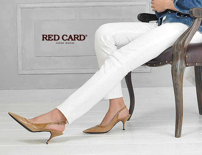 レディース,RED CARD,レッドカード.ボーイフレンドデニム