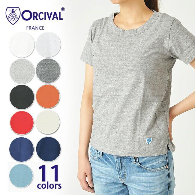 レディース,Tシャツ,ORCIVAL,オーシバル,オーチバル,半袖,通販
