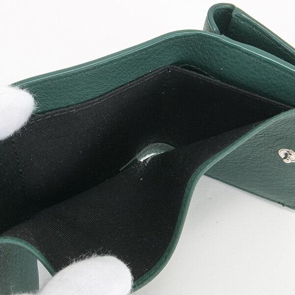 バレンシアガ 財布 三つ折り財布 ミニ財布 レディース ペーパー ミニウォレット ブラック BALENCIAGA 391446 DLQ0N 3045 スマートウォレット 薄型 薄い