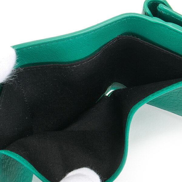 バレンシアガ 財布 三つ折り財布 ミニ財布 レディース ペーパー ミニウォレット ブラック BALENCIAGA 391446 DLQ0N 3704 スマートウォレット 薄型 薄い