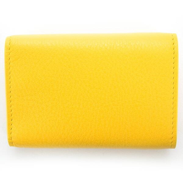 バレンシアガ 財布 三つ折り財布 ミニ財布 レディース ペーパー ミニウォレット ブラック BALENCIAGA 391446 DLQ0N 7155 スマートウォレット 薄型 薄い