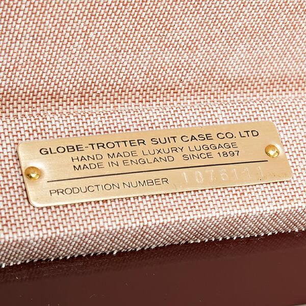 グローブ・トロッター GLOBE-TROTTER キャリーケース スーツケース 旅行かばん SAFARI 18 トロリーケース サファリ アイボリー GTSAFIN18TC IVORY/NATURAL