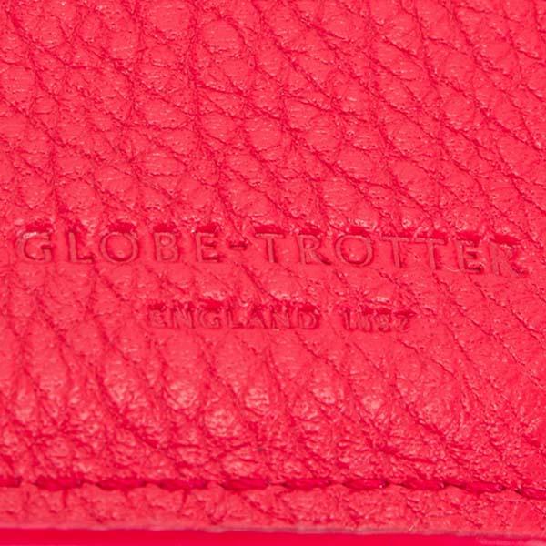 グローブトロッター 財布 三つ折り財布 レディース レッド【GLOBE TROTTER コンパクト財布 コンパクトウォレット ミニペーパーウォレット ちび財布 おしゃれ かわいい 新品 正規品 ブランド セール】