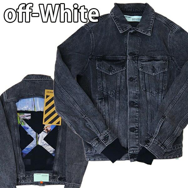 オフホワイト Off-White メンズ アウター ジャケット デニム モネ バージル アブロー VIRGIL ABLOH OMYE019R19C270120888
