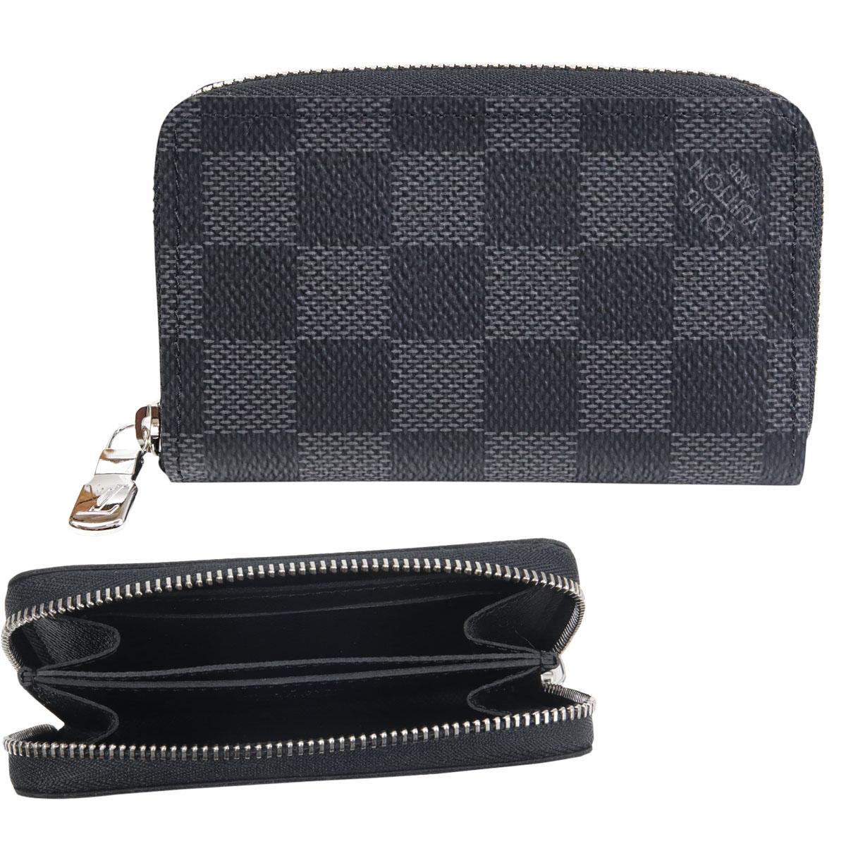 ルイヴィトン LOUIS VUITTON 財布 小銭入れ メンズ レディース ジッピー・コイン パース ダミエ・グラフィット N63076
