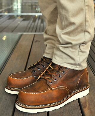 Gettry Rakuten Global Market Red Wing 6inch Moc Toe