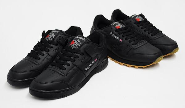 reebok classic high top black