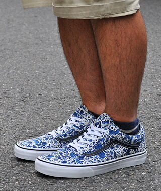 f8120627581fda VANS. OLD SKOOL.   VN-0vokdm5. (LIBERTY) FLORAL VINES.
