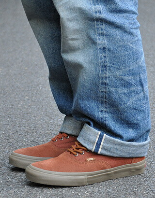vans era pro tony alva rust brown