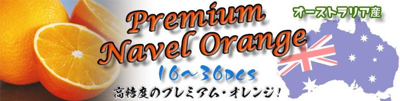 オーストラリア産・高糖度のプレミアムネーブルオレンジ