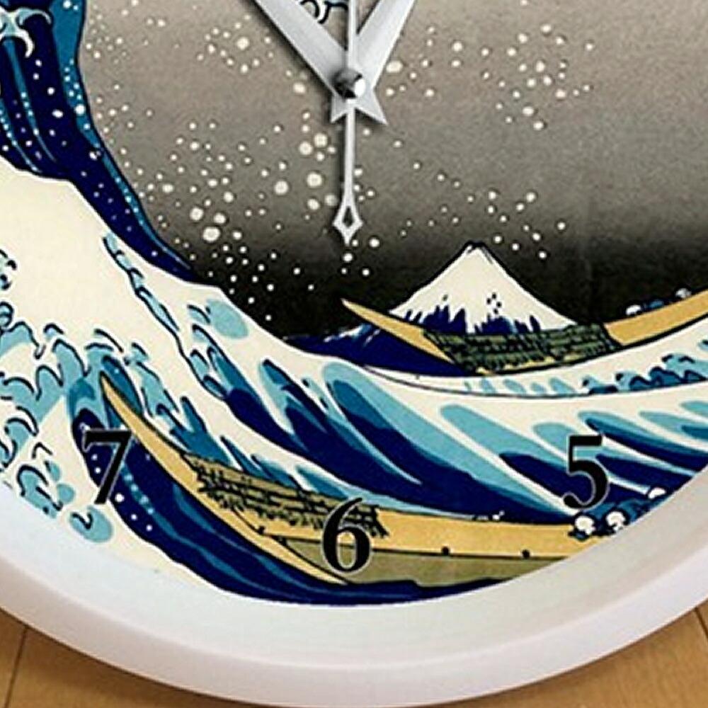葛飾北斎 波裏 壁掛け時計
