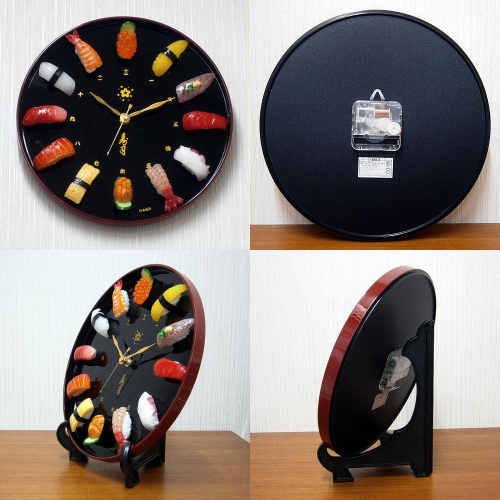 お寿司の時計