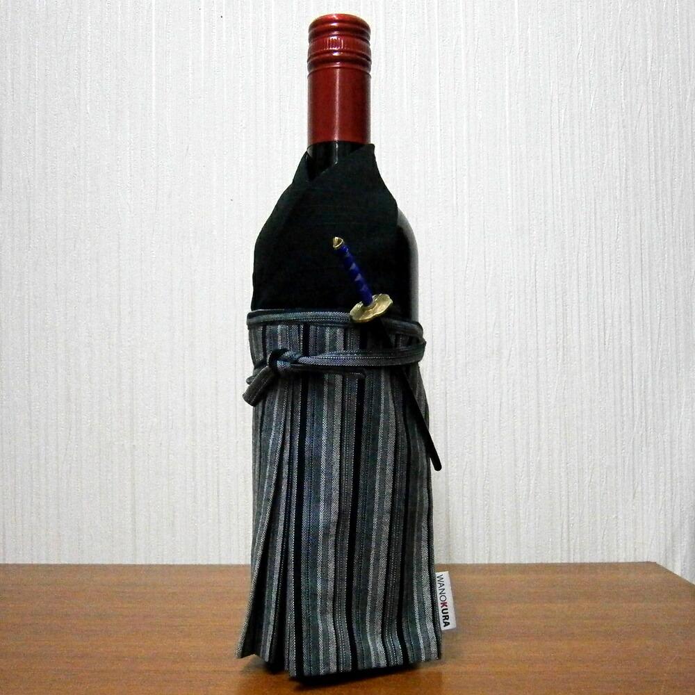 着物ボトルカバー 着物ボトルウェア 侍