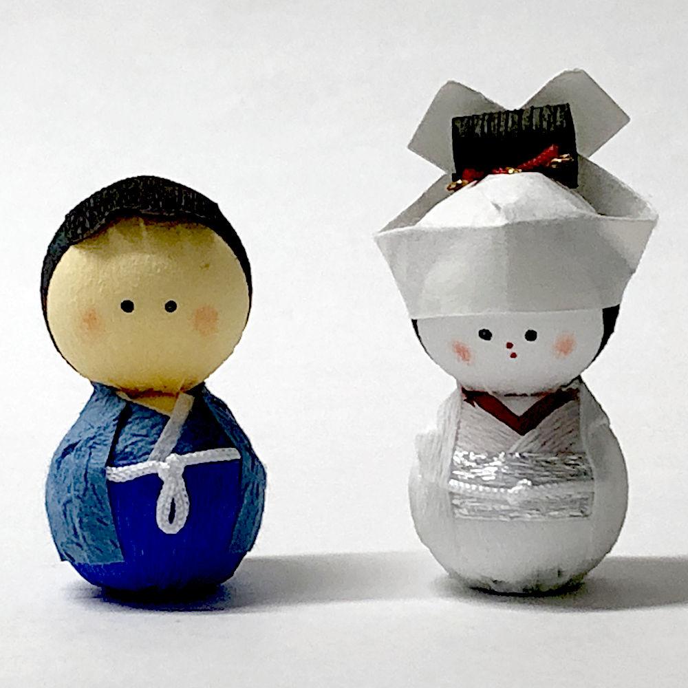 雛人形 起き上がりこぼし人形