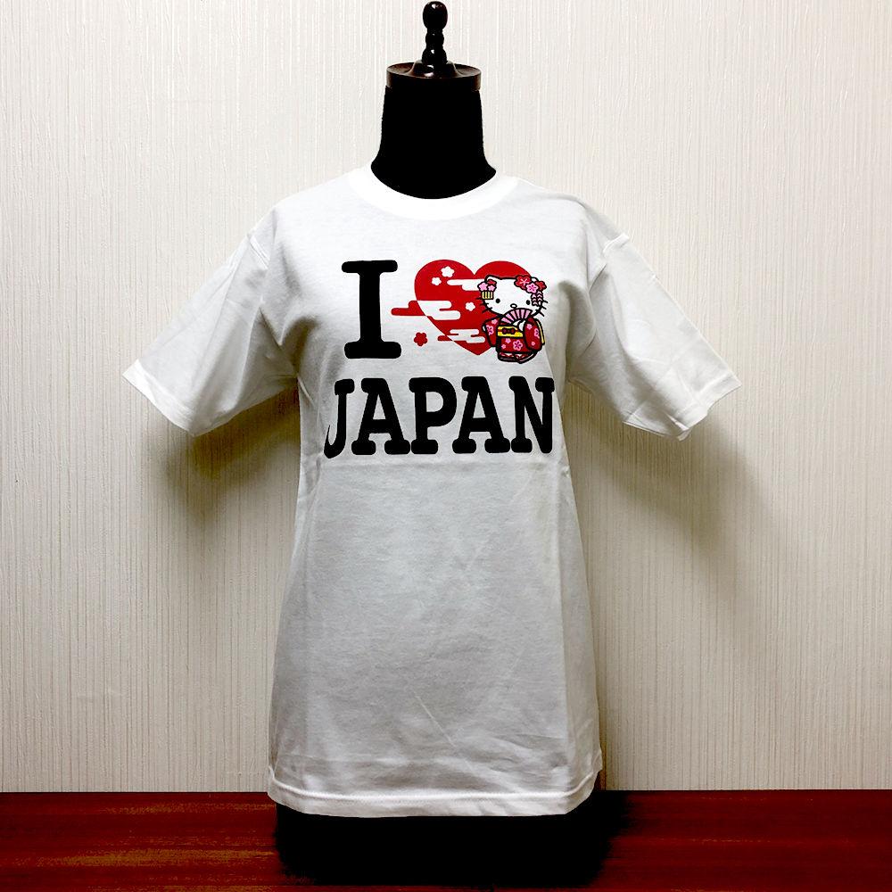 アイラブジャパンTシャツ キティちゃん舞妓