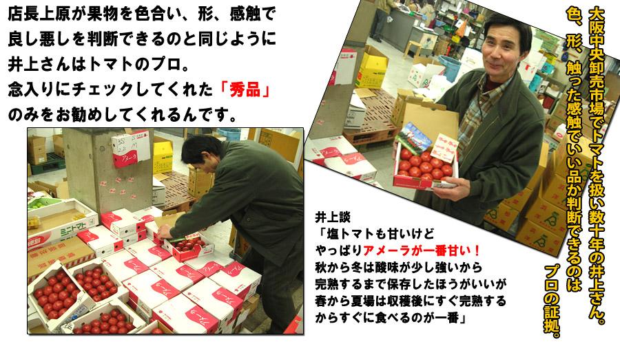 大阪中央卸売市場の井上さん
