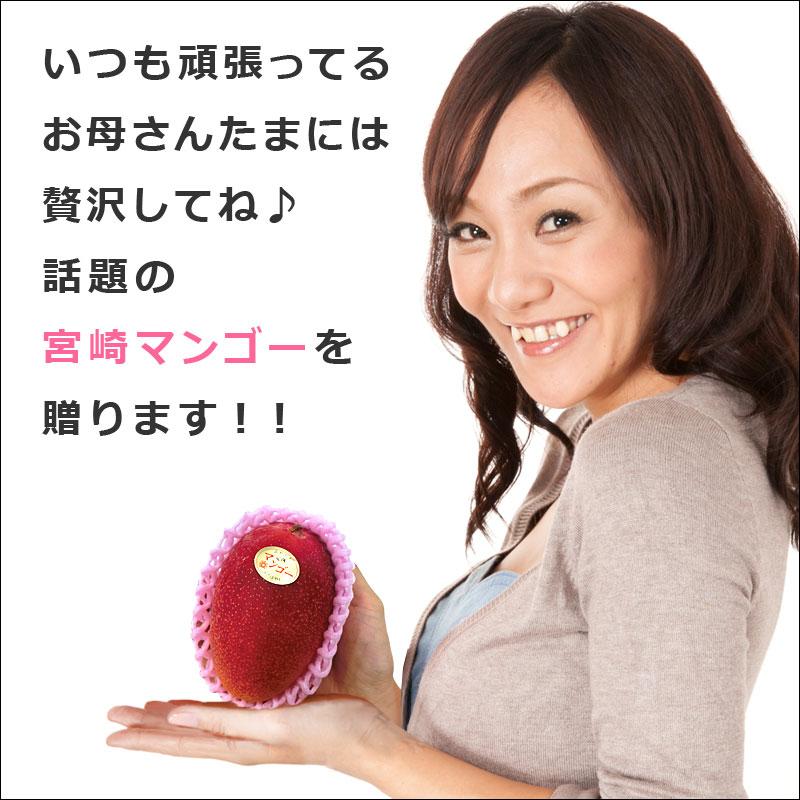 母の日はお母さんに贅沢な宮崎マンゴーを贈りましょう