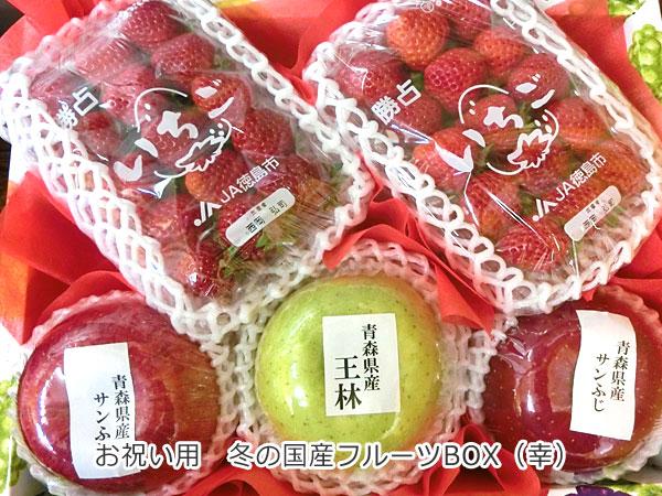 お祝い用 冬の国産フルーツBOX(幸)