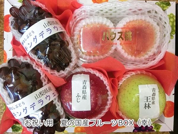 夏の国産フルーツBOX(幸)