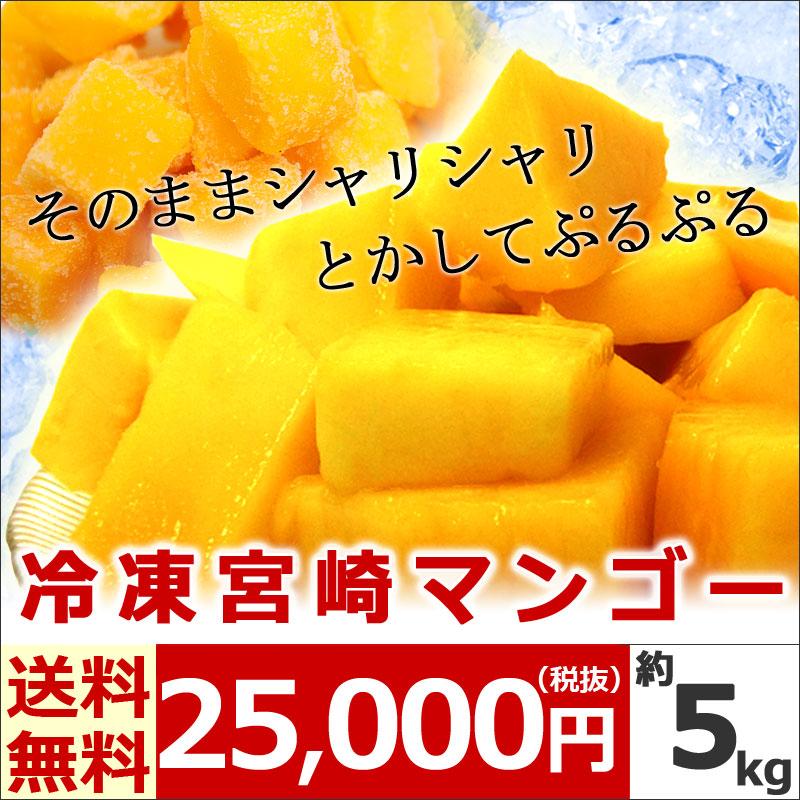 冷凍宮崎マンゴー