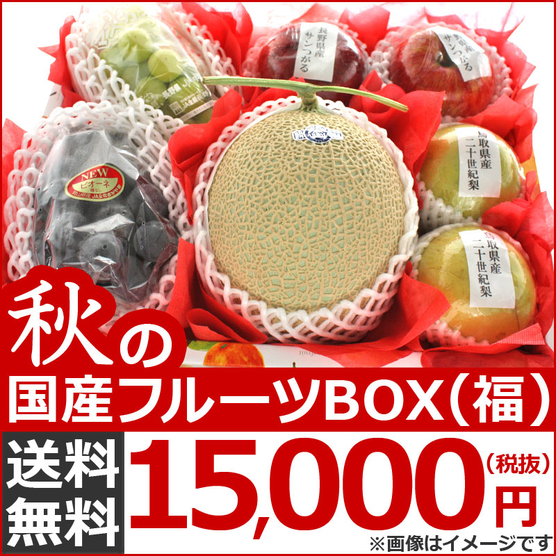 国産フルーツBOX「福」お祝い用