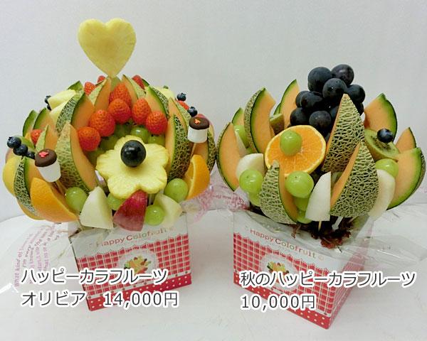 ハッピーカラフルーツ フルーツフラワー オリビア 秋のハッピーカラフルーツ