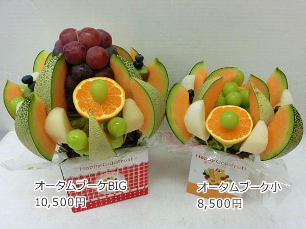 ハッピーカラフルーツ フルーツフラワー オータムブーケBIG オータムブーケ小