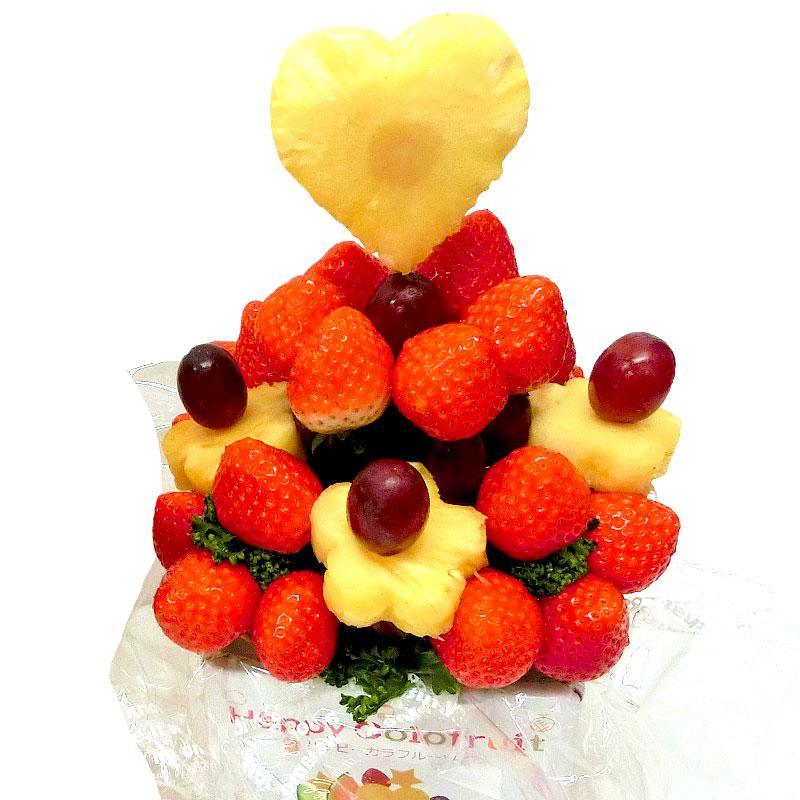 ハッピーカラフルーツ いちごブーケ