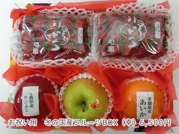 冬の国産フルーツBOX(幸)