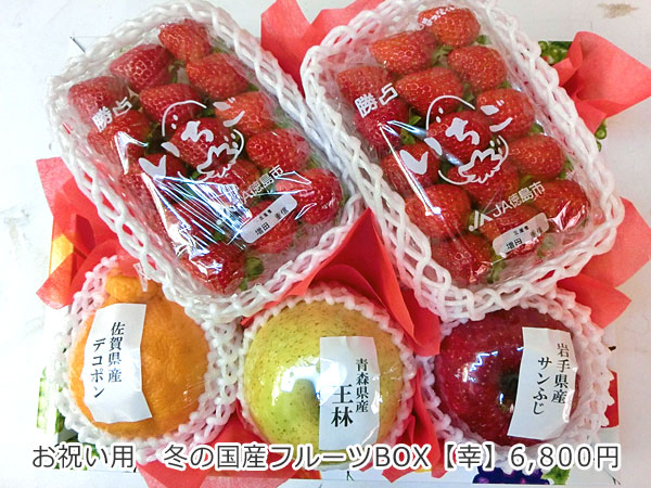 冬の国産フルーツBOX【幸】
