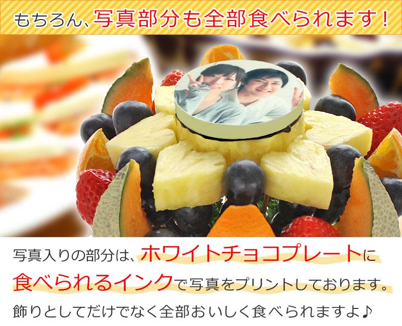 フォトハッピーカラフルーツ 写真部分も食べられます