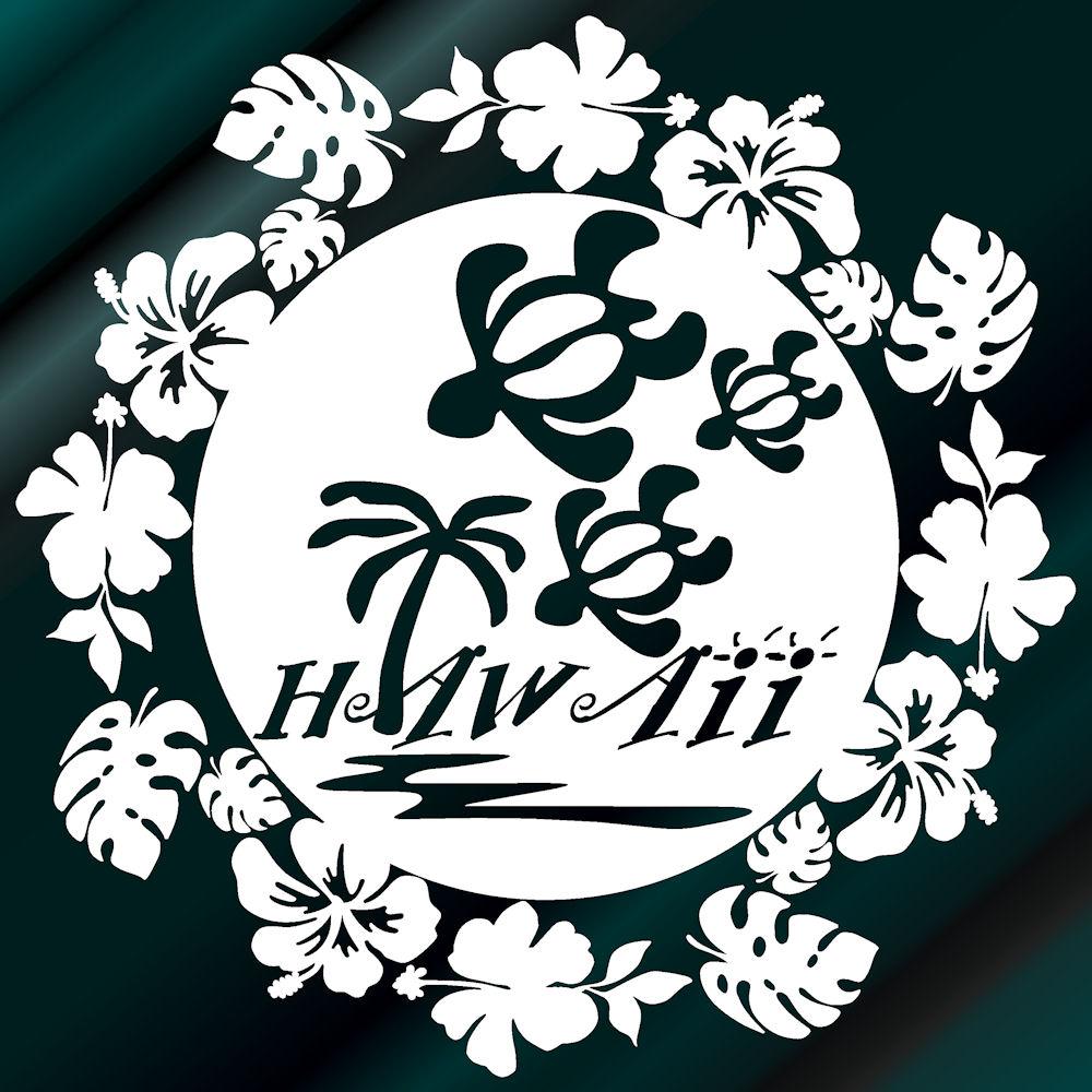 ハワイアンステッカー