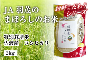 特別栽培米 佐渡産 コシヒカリ 2kg