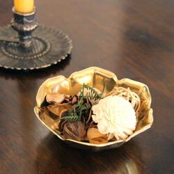 真鍮 小皿 小物入れ 灰皿 アッシュトレイ ソープトレイ