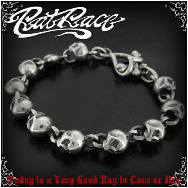 Skull Bracelet Silver Mens Las Skeleton Shinjuku Collection Free Shipping R L D Rat Lb Design