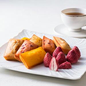 【送料無料】銀座いちごショコラ&フィナンシェ