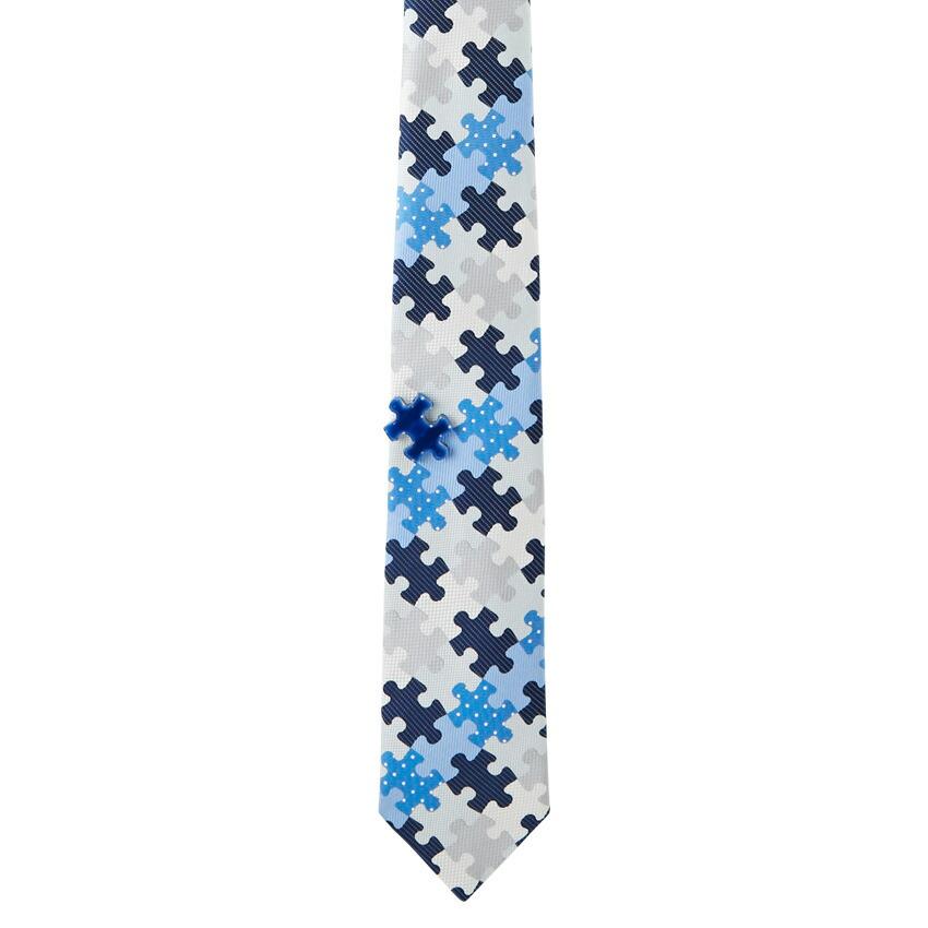giraffe  パズルタイ BLUE