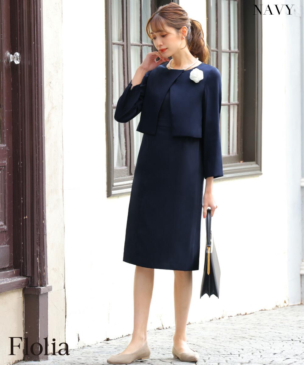 e595e975268ab ドレス ·  スーツ ·  ワンピース ·  スレンダーライン ·  大きいサイズ ·  体型カバー ·  エレガント ·  8