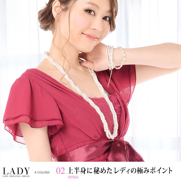 レディドレス・上半身に秘めたレディの極みポイント・モデル:青田夏奈