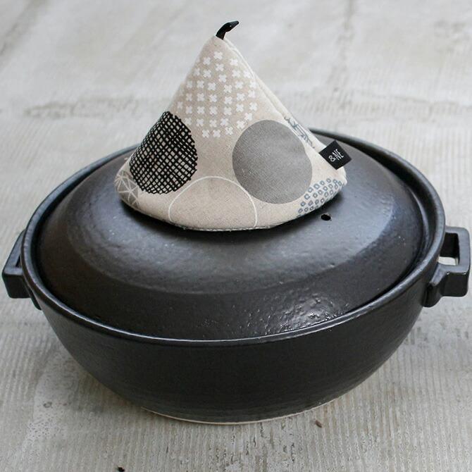 大きな三角鍋つかみ