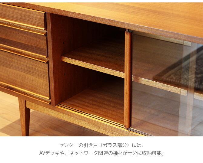 ACME Furniture アクメファニチャー TRESTLES テレビボード  テレビボード ハイタイプ 180cm テレビ台 収納 無垢 ナチュラル 天然木 ヴィンテージ シンプル