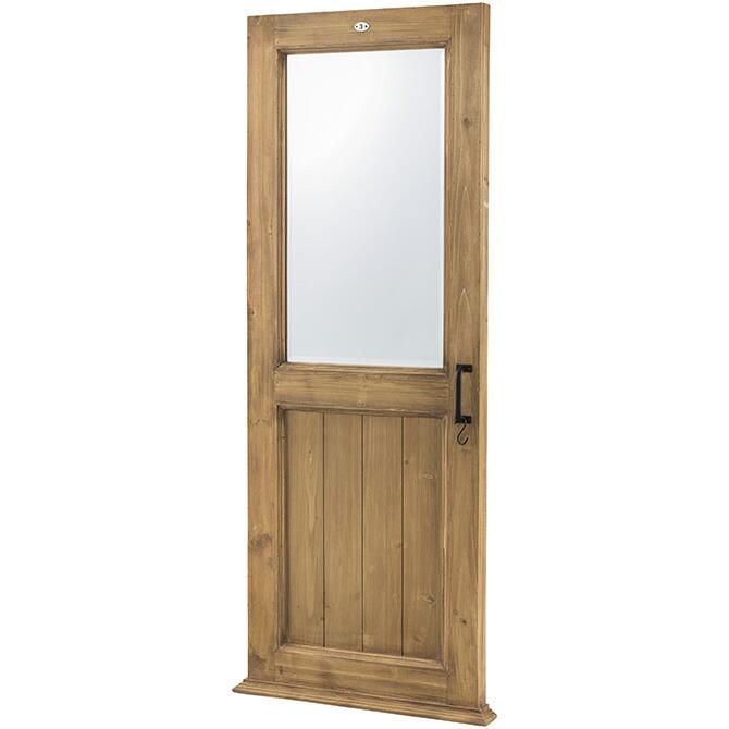 ドア窓デザインミラー 65×161cm