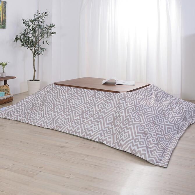 こたつ布団カバー 長方形用 リバーシブル 192×232cm