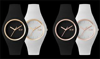 新発売のピンクゴールド アイスウォッチ腕時計★icewatch正規品★アイスグラムICE-GLAM【宅配便】ブラック(イエローゴールド)