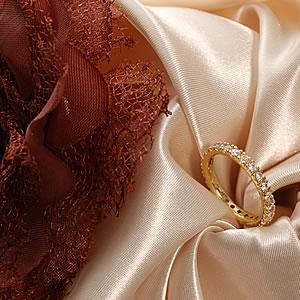 ゴールドCzダイヤモンドジュエリーフルエタニティーリング|指輪|プレゼント|ギフト|Diamond ring|アクセサリー|【宅配便】7-8