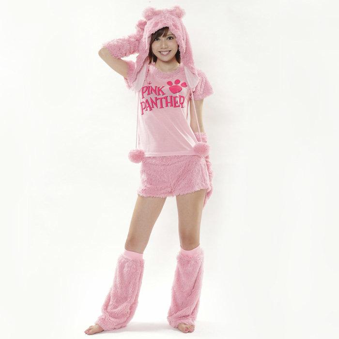 ハロウィン 仮装 コスプレ ピンクパンサー 5点セット キャラクター SZC140 レディース 衣装 コスチューム サザック 文化祭